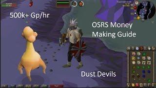 OSRS Money Making Guide Dust Devils 500k+ Gp/Hr