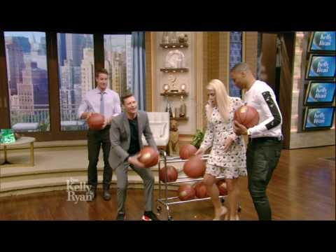 Shooting Hoops With Russell Westbrook