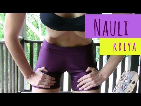 Nauli kriya, yoga para limpar e definir abdomen