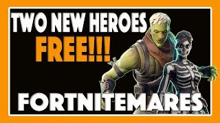 Fortnite | Save the World | Two New Heroes Free! Brainiac Jonesy and Skull Ranger Ramirez