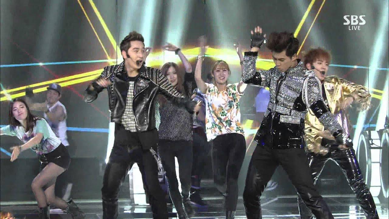 2pm 미친거 아니야 Go Crazy Stage Sbs 2014 Gayo Daejeon 2014 12 21 Youtube