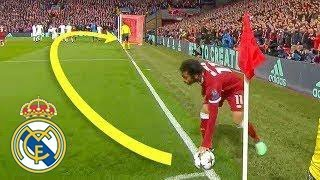 During this shot Mohammed Salah proved that he deserves to be in Real Madrid !!