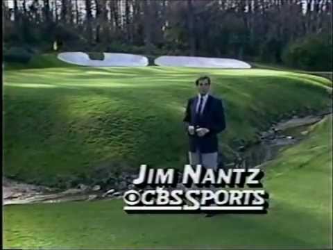 1986 The Masters with Jim Nantz spot + CBS ID