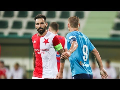 Обзор матча «Зенит» — «Славия»