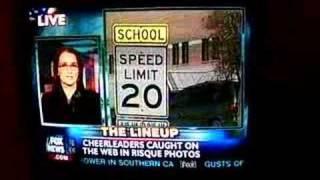 CHEERLEADERS TERRORIZE TEXAS HIGH SCHOOL