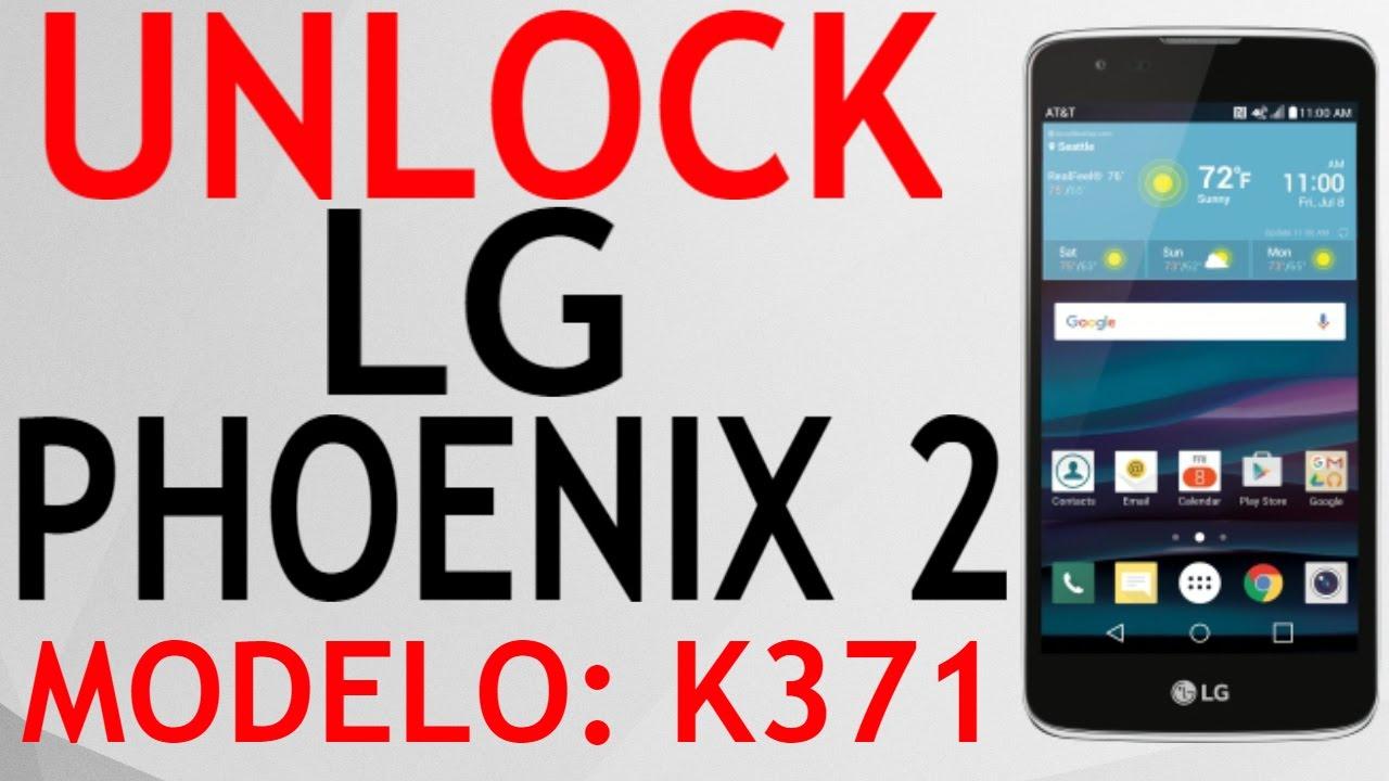 UNLOCK LG PHOENIX 2 K371 AT&T CON OCTOPUS BOX