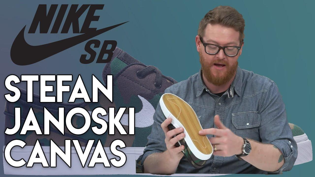 condón Risa Repegar  Nike SB Zoom Stefan Janoski Canvas Skate Shoes - YouTube
