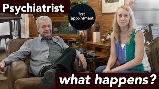 PSYCHIATRIST First Appointment... WHAT HAPPENS? - mental health with Kati Morton