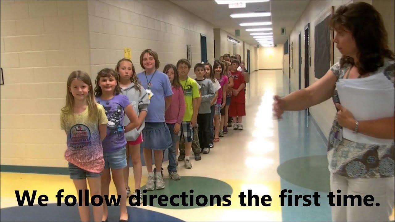 wves hallway expectations pbis