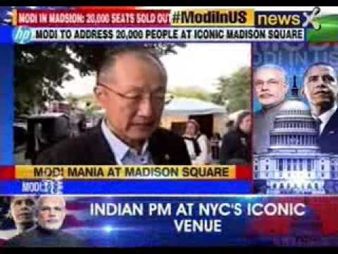 Jim Yong Kim World Bank President  Speaks exclusively to NewsX
