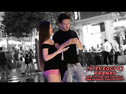HOW TO PICK UP GIRLS IN SINGAPORE FOR FUN | SG MERLION CITY 2016 | VACATION IN SINGAPORE ✔