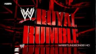 "2013: WWE Royal Rumble Theme Song - ""What Makes a Good Man?"" by The Heavy + Download Link ᴴᴰ"