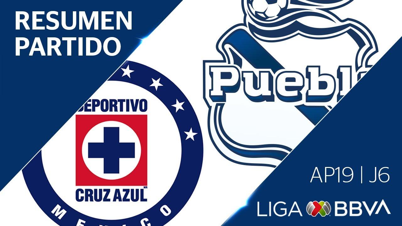 Resumen y Goles | Cruz Azul vs Puebla | Apertura 2019  - Jornada 6 | Liga BBVA MX