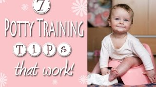 Potty Training Tips that REALLY Work