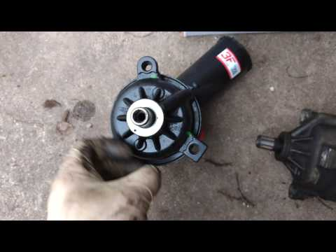 DIY Power steering pump replacement on a 1995 F350 Powerstroke