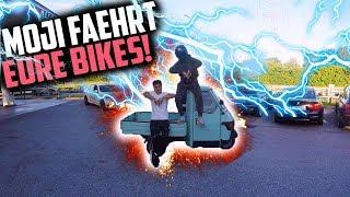 MOJI FÄHRT EURE BIKES! | PIAGGIO APE 50