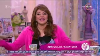 السفيرة عزيزة - الفنانة / حنان مطاوع ونهى عابدين يفاجئون النجمة / هالة صدقي بمناسبة عيد الأم