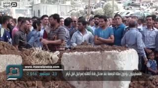 مصر العربية | فلسطينيون يؤدون صلاة الجمعة عند مدخل بلدة أغلقته إسرائيل قبل أيام