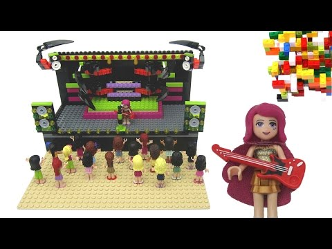 Lego Friends Pop Star Show Stage by Misty Brick.