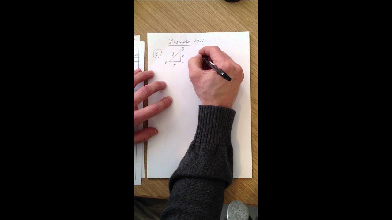 Mat B eksamenssæt december 2011 del 1.MOV