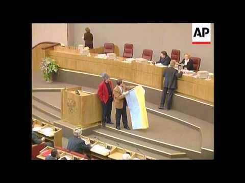 Russia - State Duma Opens With Fiery Debate