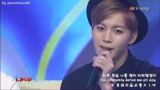【HD繁中/英/韓字幕】140121 빅스(VIXX) - 태어나줘서 고마워/Thank You For My Love/感謝你的誕生 @ Simply Kpop (CN/ENG/HAN SUB)