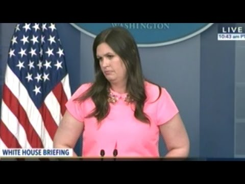 Sarah Huckabee Sanders Holds Her First White House Daily Briefing As Deputy Press Secretary