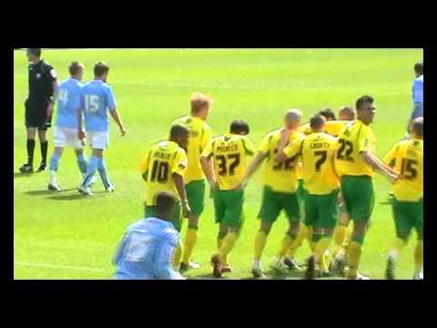 Pacheco goal - Norwich vs Coventry - Premier leagu...