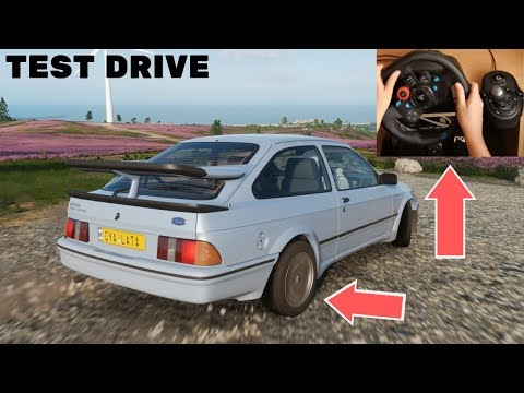 Forza Horizon 4 Ford Sierra Cosworth RS500 (Logitech G29 Steering Wheel) Gameplay