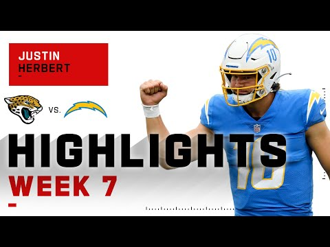 Justin Herbert Gets His First NFL Win on 4-TD Day   NFL 2020 Highlights