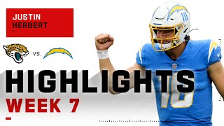 Justin Herbert Gets His First NFL Win on 4-TD Day | NFL 2020 Highlights