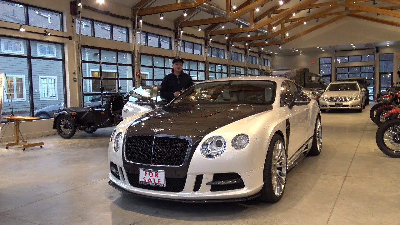2013 Bentley Continental GT V8 Mansory, Detailed Overview, AlphaCars ...