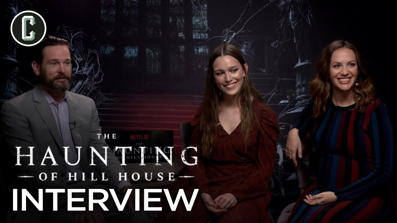 Haunting Of Hill House Cast Interview Youtube