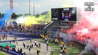 FC Carl Zeiss Jena 2:0 FC Rot-Weiß Erfurt 28.05.2016 | Choreo, Pyroshows & Support