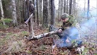 Удачная охота на рябчика осенью 2017