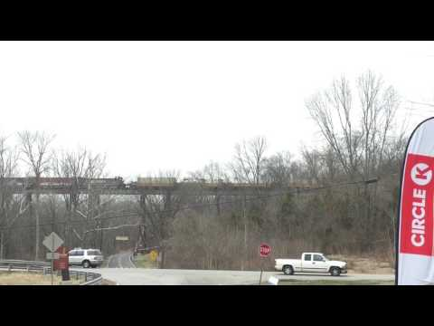 NS with 2 surprises at Pope Lick Bridge