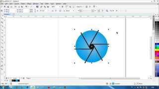 How to Make Photography Logo in Corel Draw