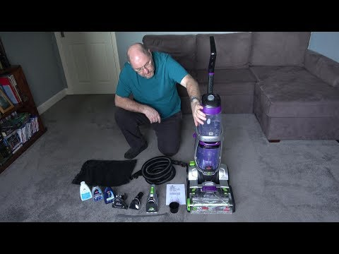 Bissell ProHeat 2X Revolution Pet Pro Review. Easy DIY carpet cleaning!