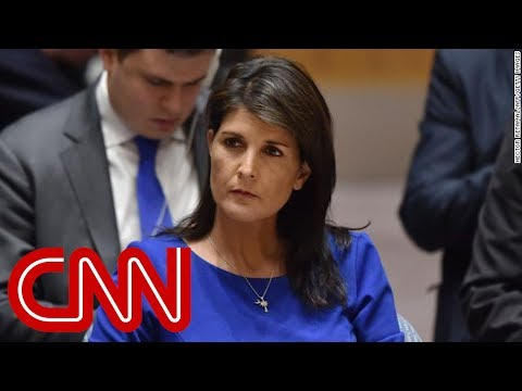 Haley to White House: I don't get confused