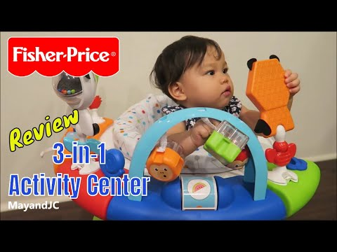 Fisher-Price 3-in-1 Spin & Sort Activity Center Unboxing & Review