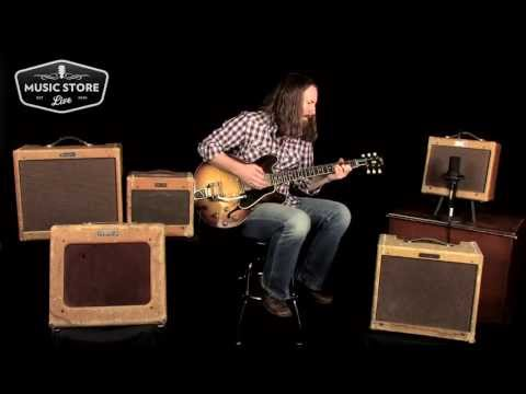 Fender Tweed Amp Vintage Roundup Demo