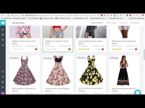 Como Subir Productos Para Dropshiping Con Oberlo En Shopify