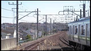 9890レ DE10-1666 東急 2020系 甲種輸送 4両 横浜線 成瀬駅 2017/02/07