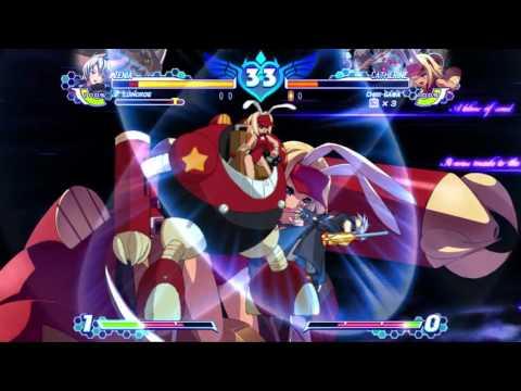 Arcana Heart 3 LOVE MAX!!!!! - mintkat (Zenia) vs. Fatman (Catherine) |