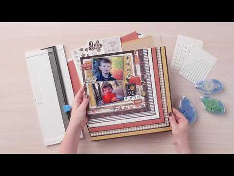 Countryside Comfort Sticker Layout Project | Creative Memories Australia