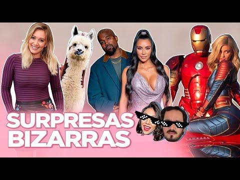 AS SURPRESAS MAIS BIZARRAS DOS CASAIS FAMOSOS ft MEU NAMORADO  Foquinha
