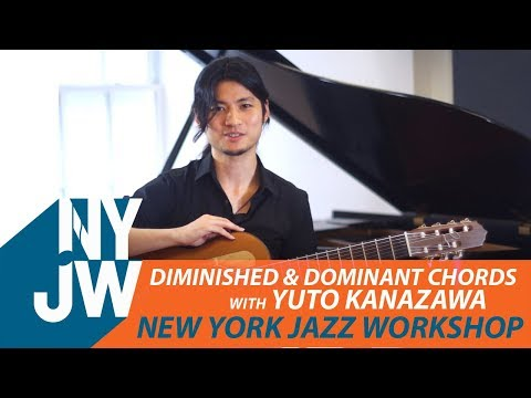 Diminished & Dominant Chords with Yuto Kanazawa