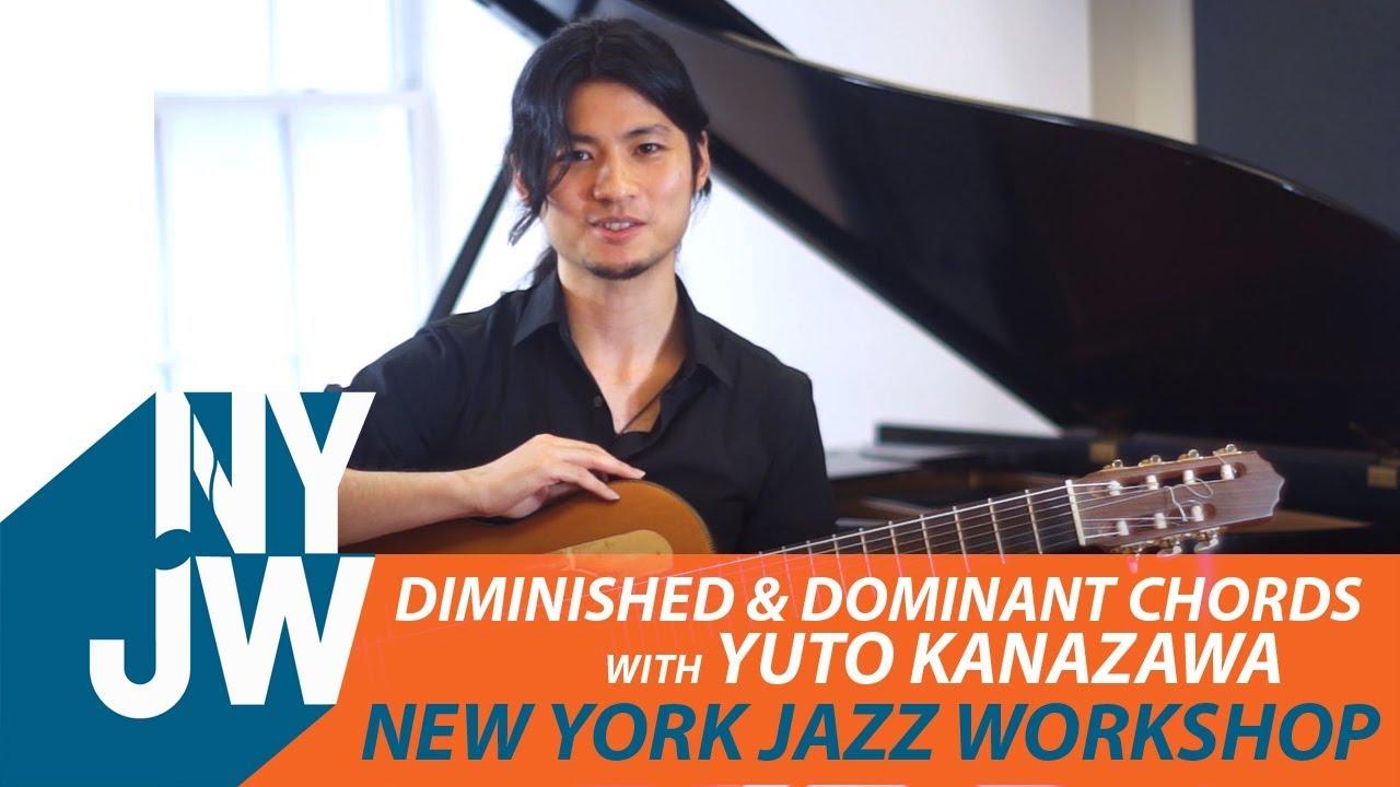 Diminished Dominant Chords With Yuto Kanazawa Youtube