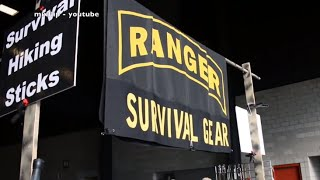 survival hiking stick by Army Airborne Ranger (Retired) Jim Callahan