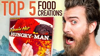 Top 5 Greatest Food Creations